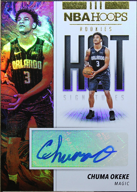 Chuma Okeke 2019-20 Hoops Hot Signatures