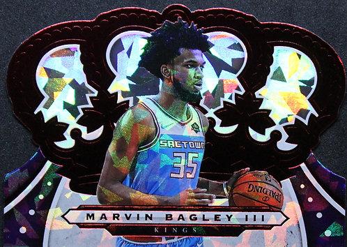 Marvin Bagley III 2019-20 Crown Royale Crystal Red 16/49