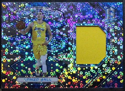 Lonzo Ball 2017-18 Spectra Next Era Memorabilia /99 RC