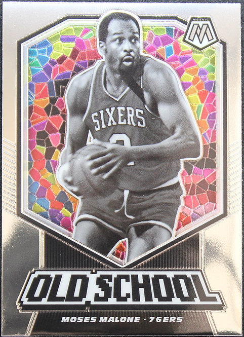 Moses Malone 2019-20 Mosaics Old School