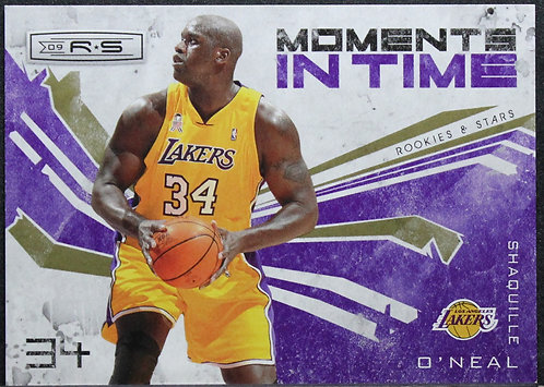 Shaquille O'Neal 2009-10 Rookies and Stars Moments in Time Gold 280/500