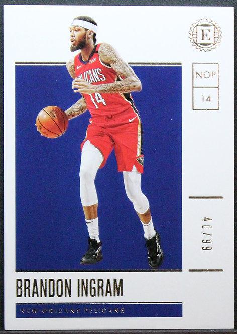 Brandon Ingram 2019-20 Encased 40/99