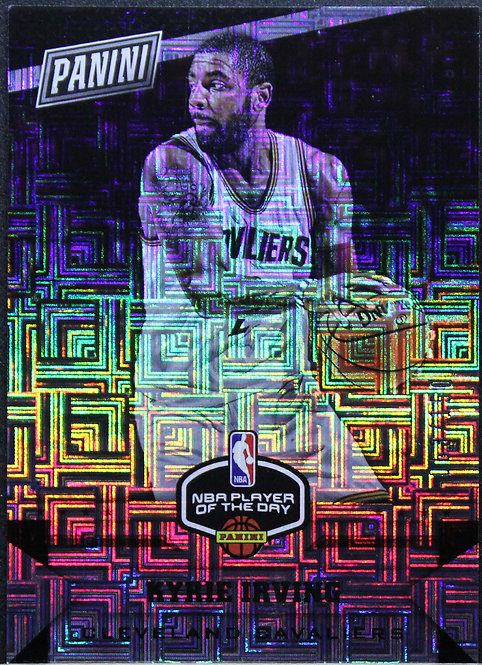 Kyrie Irving 2017 Player of the Day Escher Square Prizms 63/150
