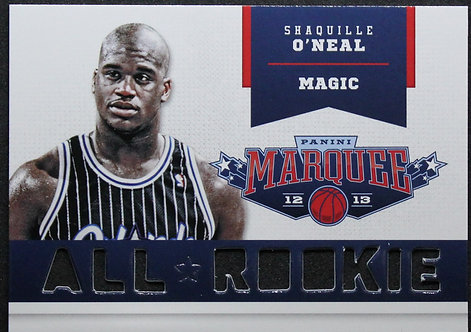 Shaquille O'Neal 2012-13 Marquee All-Rookie Team Laser Cut