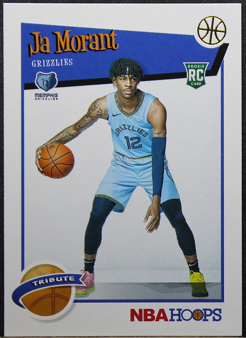 Ja Morant 2019-20 Hoops Tribute RC