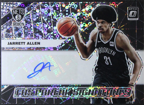 Jarrett Allen 2019-20 Optic Fast Break Auto