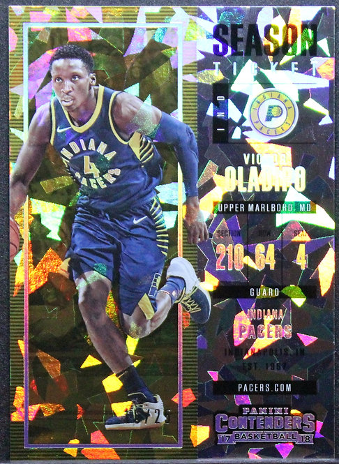 Victor Oladipo 2017-18 Contenders Cracked Ice Ticket 16/25