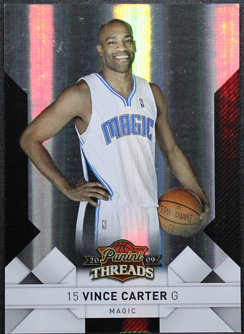 Vince Carter 2009-10 Threads Centry Proof Silver 119/249
