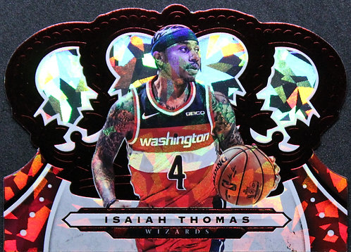 Isaiah Thomas 2019-20 Crown Royale Crystal Red 21/49