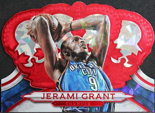Jerami Grant 2018-19 Crown Royale Crystal Red 32/49