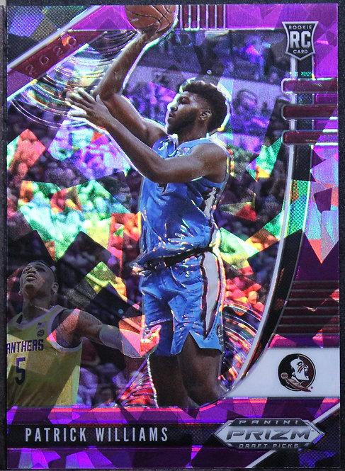 Patrick Williams 2020-21 Prizm Draft Picks Purple Ice 142/149