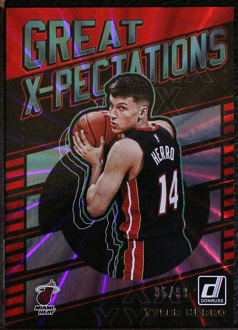 Tyler Herro 2019-20 Great X-pectaions Red Laser 95/99