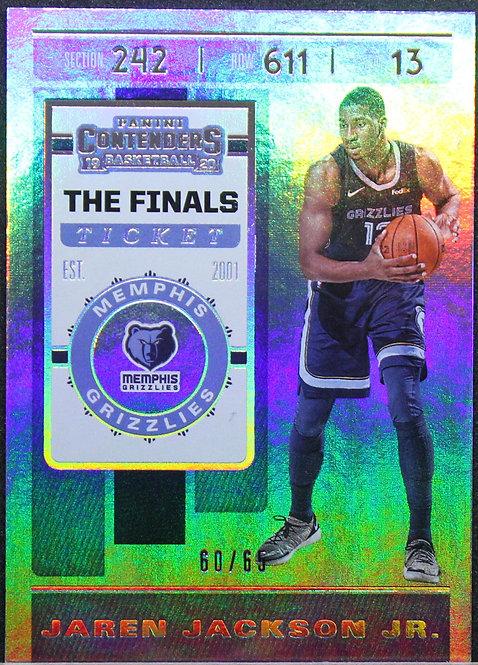Jaren Jackson Jr. 2019-20 Contenders The Finals Ticket 60/65