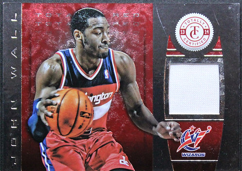 John Wall 2013-14 Totally Certified Materials Red 51/99