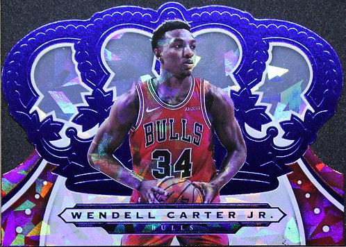 Wendell Carter Jr 2019-20 Crown Royale Cystal Blue 91/99