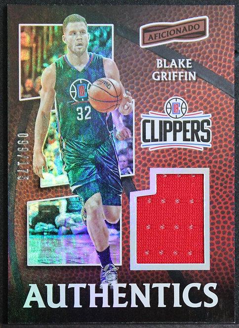 Blake Griffin 2016-17 Aficionado Authentics 99/175