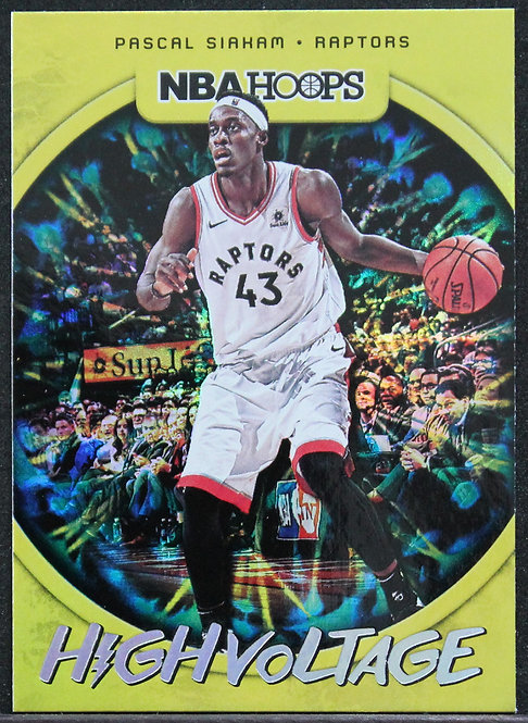 Pascal Siakam 2019-20 Hoops High Voltage