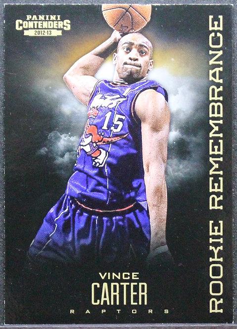 Vince Carter 2013-14 Contenders Rookie Rememberance