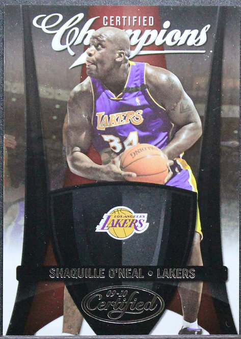 Shaquille O'Neal 2009-10 Certified Champions 445/500
