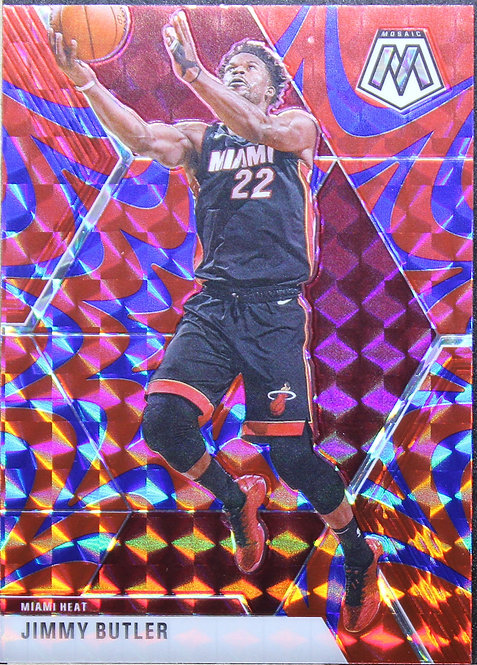Jimmy Butler 2019-20 Mosaic Blue Reactive