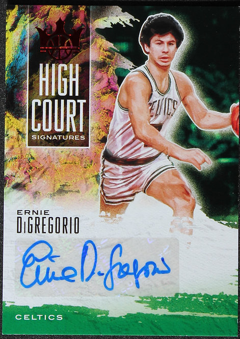 Ernie DiGregorio 2019-20 Court Kings High Court Signatures 23/99