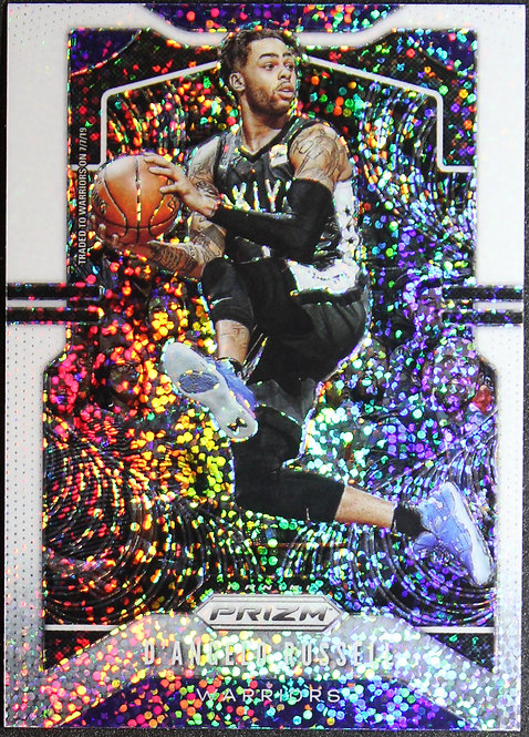 D'Angelo Russell 2019-20 Prizms White Sparkle