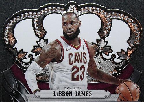 LeBron James 2017-18 Crown Royale