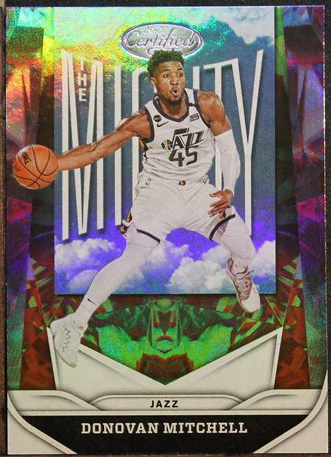 Donovan Mitchell 2020-21 Certified The Mighty