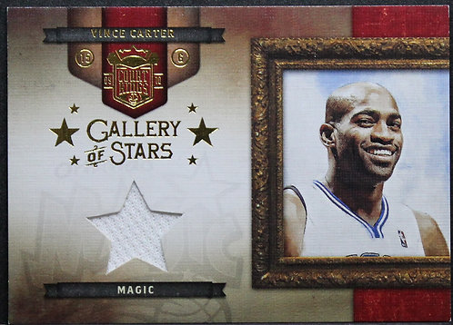 Vince Carter 2009-10 Court Kings Gallery of Stars Materials 056/299