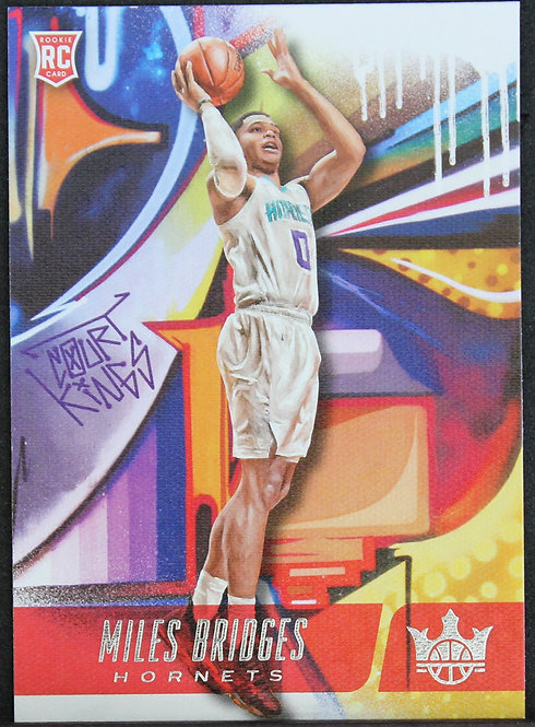 Miles Bridges 2018-19 Court Kings level II Silver