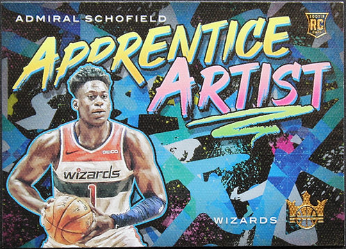 Admiral Schofield 2019-20 Court Kings Apprentice Artists RC