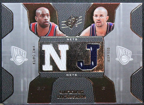 Vince Carter / Jason Kidd 2007-08 SPx Winning Materials Combos