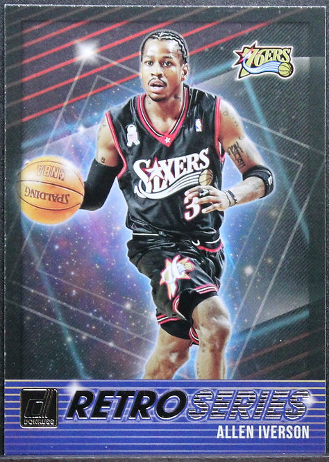 Allen Iverson 2018-19 Donruss Retro Series