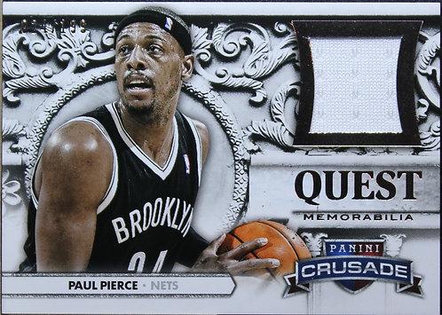 Paul Pierce 2013-14 Crusade Quest Memorabilia 24/199