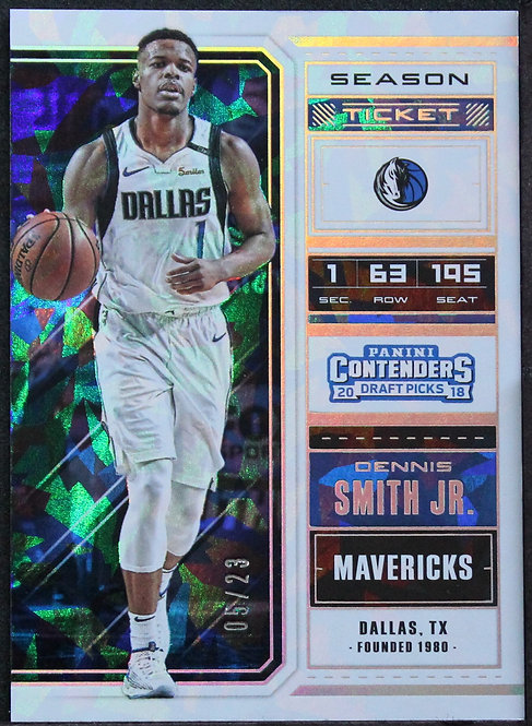 Dennis Smith Jr. 2018-19 Contenders Cracked Ice Ticket /23