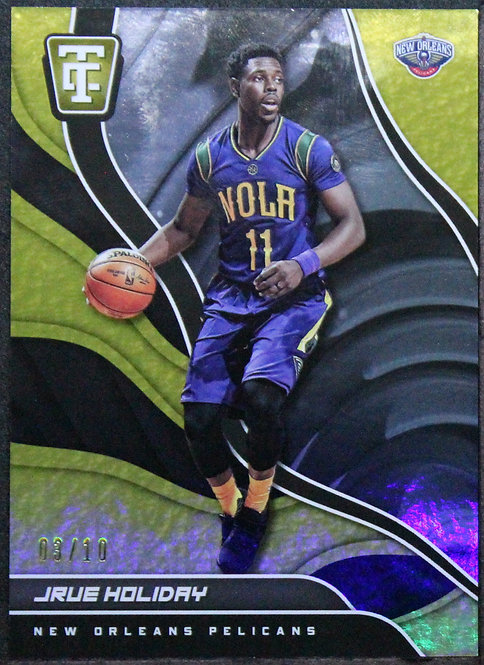 Jrue Holiday 2017-18 Totally Certified Gold /10
