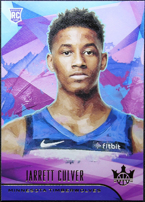 Jarrett Culver 2019-20 Court Kings Rookie Level 1