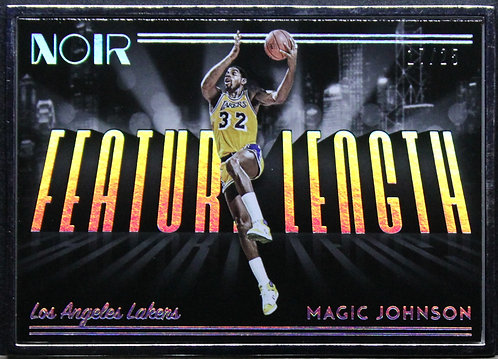 Magic Johnson 2018-19 Noir Future Length Metal Frame 17/25