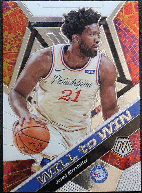 Joel Embiid 2019-20 Mosaics Will To Win