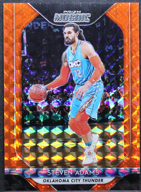 Steven Adams 2018-19 Mosaic Orange 82/99