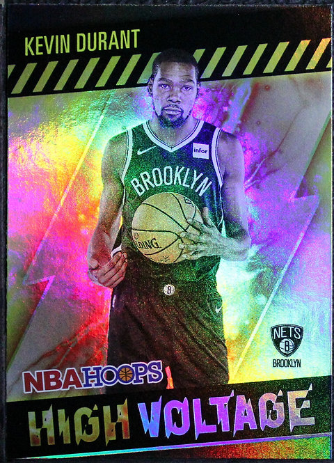 Kevin Durant 2020-21 Hoops High Voltage