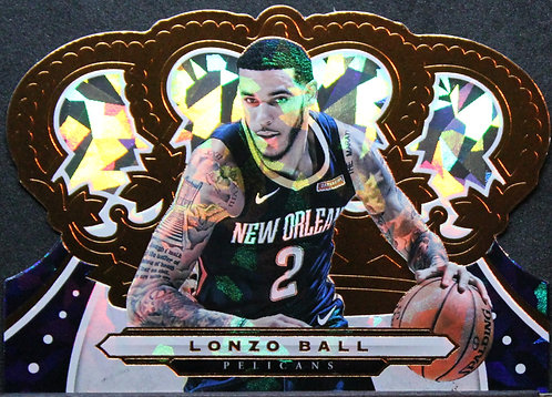 Lonzo Ball 2019-20 Crown Royale Crystal