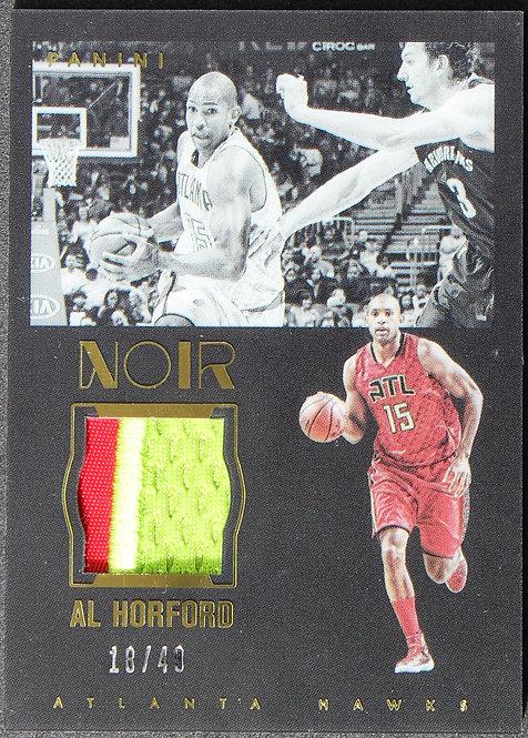 Al Horford 2015-16 Noir Acetate Materials Prime 18/49