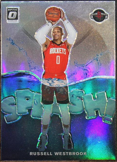 Russell Westbrook 2019-20 Optic Splash! Silver