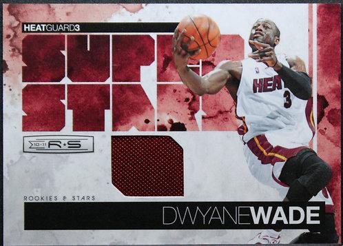 Dwyane Wade 2010-11 Rookies and Stars Superstars Materials 210/299