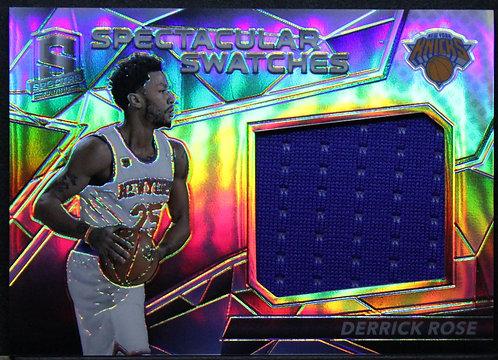 Derrick Rose 2016-17 Spectra Spectacular Swatches 078/149