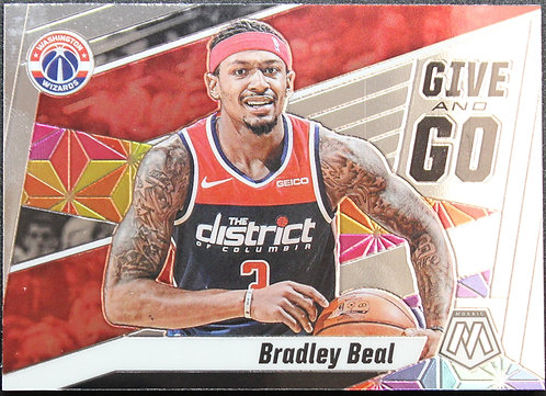Bradley Beal 2019-20 Mosaics Give and Go