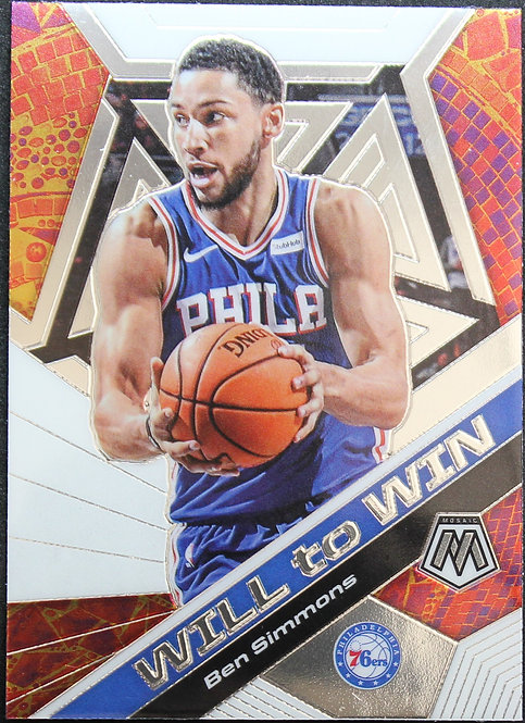 Ben Simmons 2019-20 Mosaics Will to Win