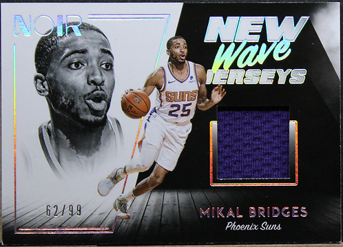 Mikal Bridges 2018-19 Noir New Wave Jerseys 62/99
