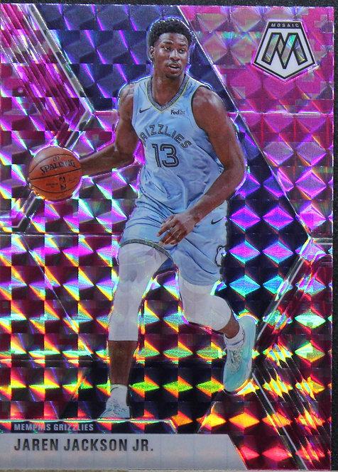 Jarren Jackson Jr. 2019-20 Mosaics Pink Camo